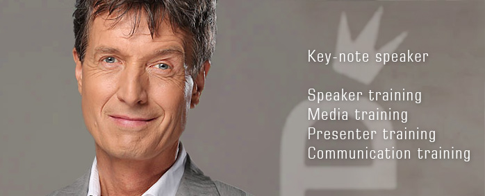 Key-note speaker, Speaker training, Media training, Presenter training, Communication training