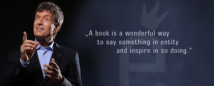 A book is a wonderful way to say something in entity and inspire in so doing.